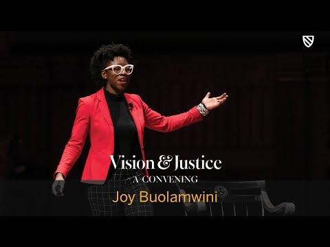 """Joy Buolamwini, """"AI, Ain't I a Woman?""""   Vision & Justice    Radcliffe ..."""
