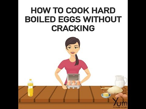 How to Cook Hard Boiled Eggs Without Cracking