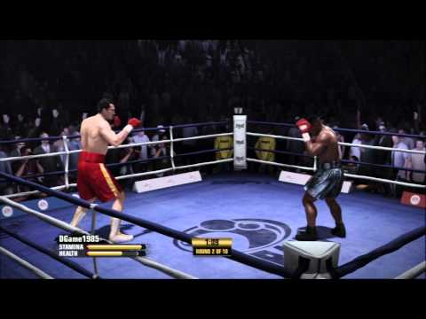 EA Sports Fight Night Champion - First Game Played in 2015 Online