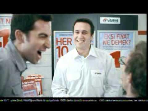 Erdem Yener Avea -1 Reklamı