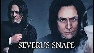 SEVERUS SNAPE (HARRY POTTER) make-up/cosplay tutorial by Lucas Adelon Rembas
