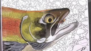 「釣人と鱒族」展