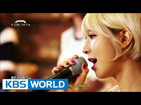 Global Request Show : A Song For You 3 - 짧은 치마   Miniskirt by AOA