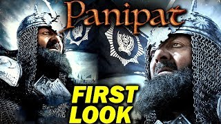 PANIPAT | SANJAY DUTT | FIRST LOOK