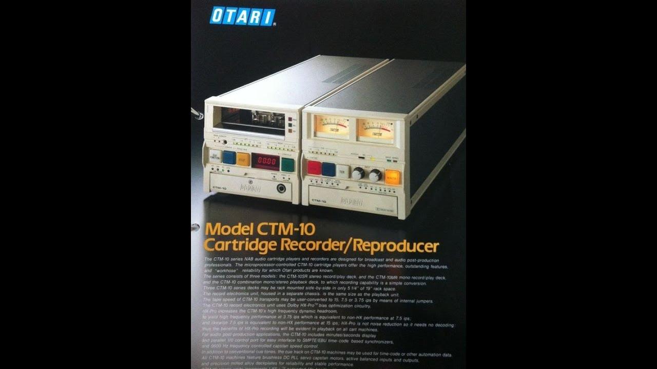 3x Otari CTM 10... H R 1314