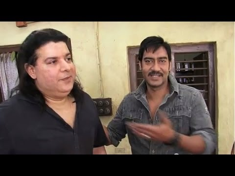 Himmatwala First Shot - LIVE from the sets first time ever !!