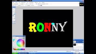 Как установить шрифт в Paint.net