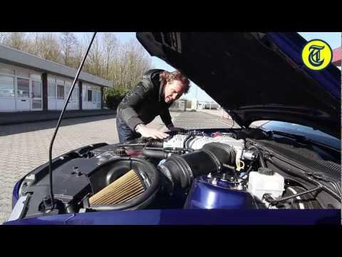 Ford Mustang GT500 Shelby going 325 km/h (English subtitled) - by Autovisie TV
