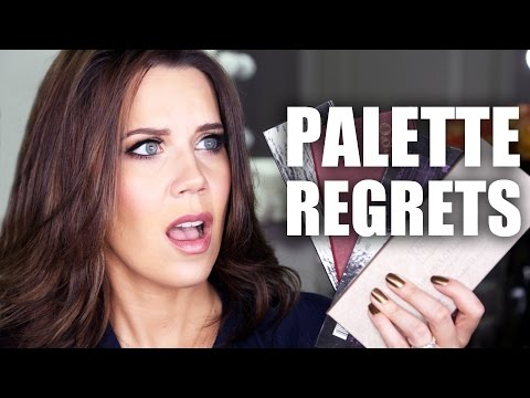 MAKEUP PALETTES I REGRET BUYING