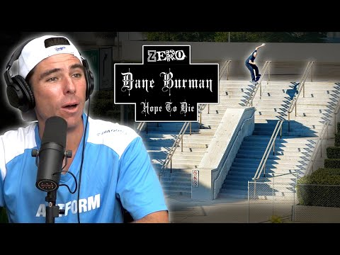 "We Talk About Dane Burman's Part ""Hope To Die""!!"