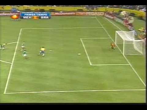 MEXICO 4-3 Brasil 1999 Campeon Copa Confederaciones
