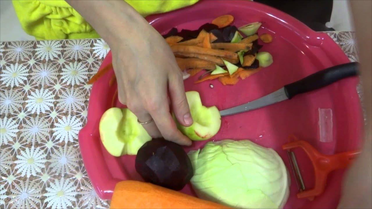 Салат метелка для очищения кишечника и похудения за 2 дня рецепт