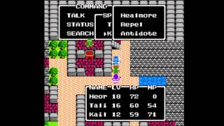 Dragon Warrior II [NES] Playthrough #17, Hamlin: Water Crest; Sailing to Beran