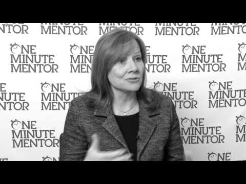 Hearst One Minute Mentor: Mary Barra on Truth