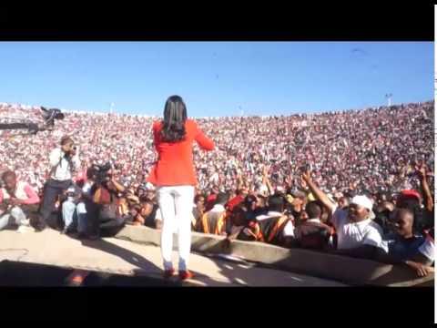 Accueil Coliseum Rajoelina Andry Président fondateur du MAPAR