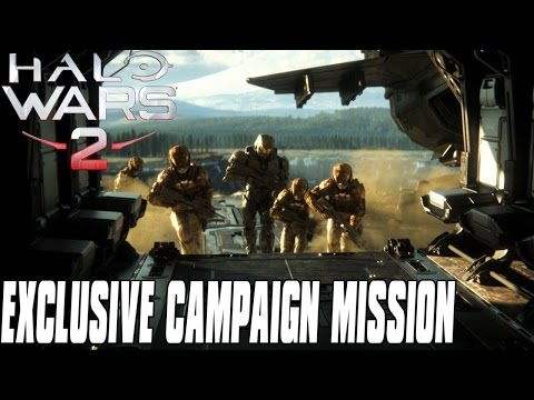 Halo Wars 2 Exclusive Campaign Mission