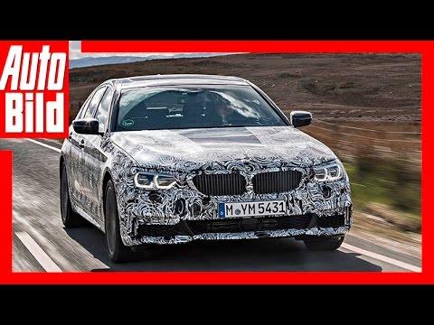 Premiere erste Fahrt BMW 5er Review/Test/Probefahrt