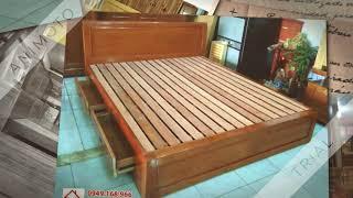 """Video clip """"Những mẫu giường ngủ gỗ sồi đẹp nhất 2017"""""""