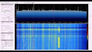 RECEPTOR SDR - 10 METROS CW E RTTY