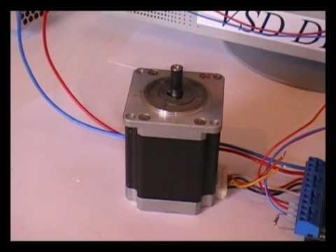 Контроллер шаговый от принтера