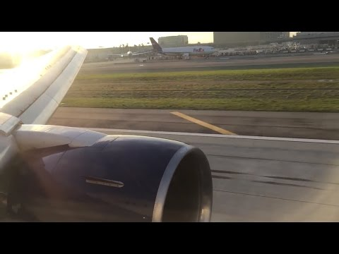 Delta Air Lines Boeing 767 Landing in Los Angeles