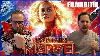 CAPTAIN MARVEL - KRITIK Review Deutsch / German