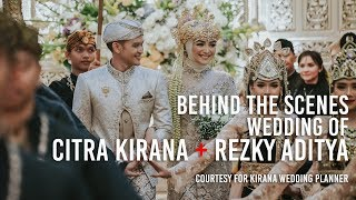 Citra Kirana & Rezky Aditya Wedding Preparation  #citrarezkymenikah