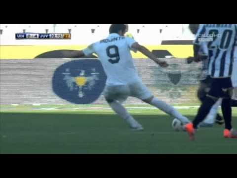 Udinese Juventus 0-4 Il gol di Iaquinta