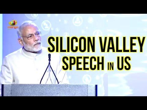 PM Modi Silicon Valley Speech In US   Pitches Digital India Dream   Modi US Tour   Full Speech