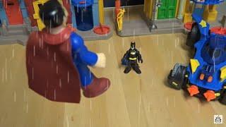 Imaginext Batman Vs. Superman Fight