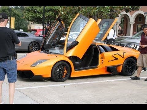 Ride in a Lamborghini Murcielago LP670-4 SV