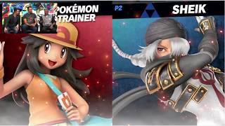 Sheik (Zero) VS Leffen (Pokemon Trainer) Super Smash Bros Ultimate