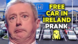 Free Car in Ireland Prank - Ownage Pranks