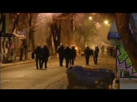 Greek Protest Turns Violent: Rioters clash with police after demo against high-security prisons