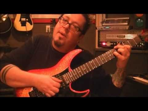How to play a Latin style guitar riff{#2}