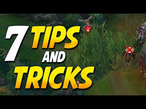 7 TIPS AND TRICKS You Probably Didn't Know About (League of Legends)