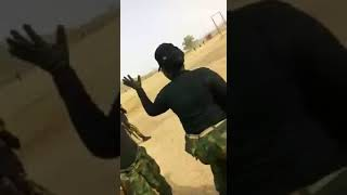 video of all female Nigerian troops deploying to fight boko haram group