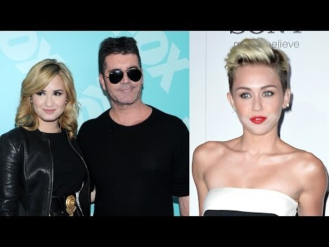 Miley Cyrus Replacing Demi Lovato on X-Factor Panel!? Simon Speaks!