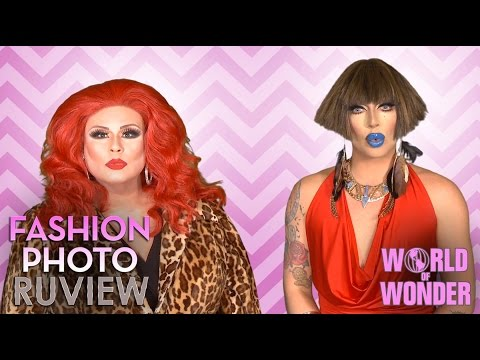 RuPaul's Drag Race Fashion Photo RuView w/ Raven & Delta Work – Social Media Episode 33