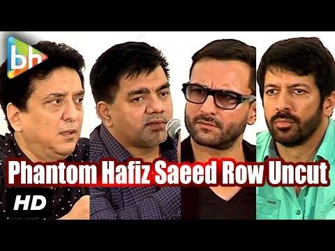 Event Uncut: Saif Ali Khan | Kabir Khan | S Hussain Zaidi Talk About Phantom-Hafiz Saeed Row