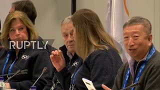 South Korea: IOC discuss Russian athletes ban removal