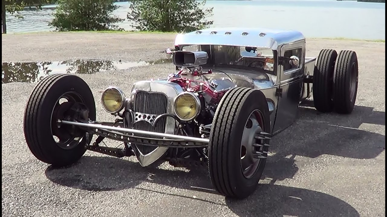 Cutworm Specialties Scratch Built Hot Rod Youtube