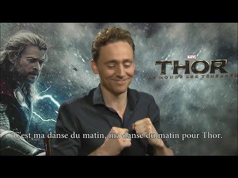 Tom Hiddleston - Thor: The Dark World Interview in French - JournalDesFemmes