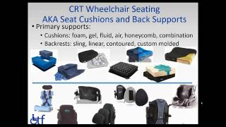 Medicare Wheelchair Requirements with the AAP and CTF