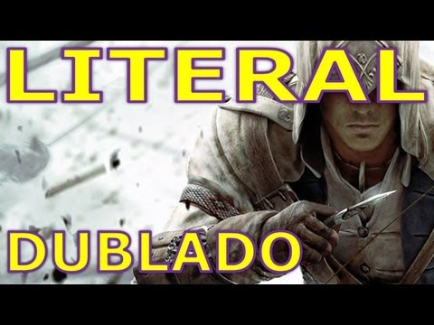 Literal Assassin's Creed lll Trailer Dublado PT-BR