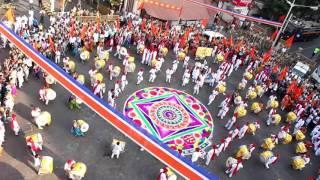 Part 2 : Jagdamb Dhol Tasha Phatak Mumbai Girgaum Church (Padwa 2016)