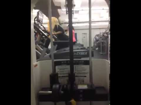 Amanda Bynes On A Stairmaster video