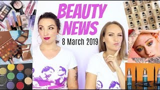 BEAUTY NEWS - 8 March 2019 | Makeup New Releases & Updates