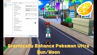 How to Graphically Enhance Pokemon Ultra Sun/Moon In Citra