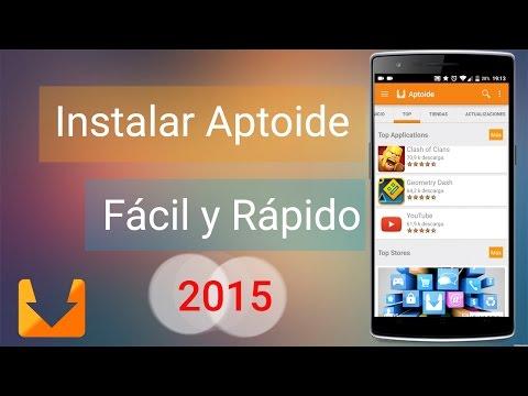 Descargar e Instalar Aptoide en Android en Español Ultima Versión